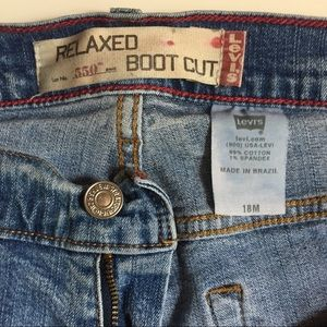 Levi's Relaxed Fit 550